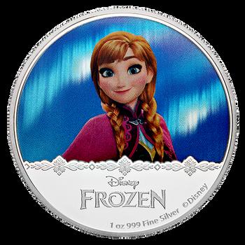 2016 FINE SILVER FROZEN - COIN - ANNA