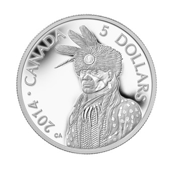 2014 $5 PLATINUM COIN - LEGEND OF NANABOOZHOO