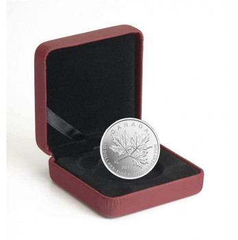 2011 $10 1/2 OZ FINE SILVER COIN - MAPLE LEAF FOREVER