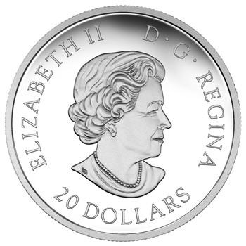 2018 $20 FINE SILVER COIN LUCKY CLOVER