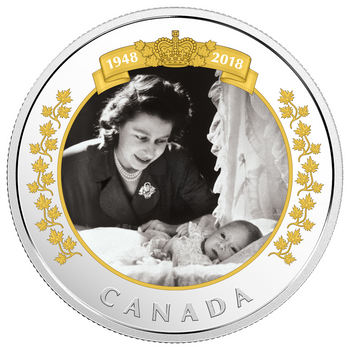 2018 $20 FINE SILVER COIN – ROYAL PORTRAIT