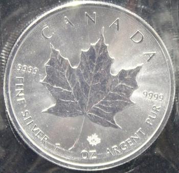 1oz. 2016 CANADIAN SILVER MAPLE LEAF COIN