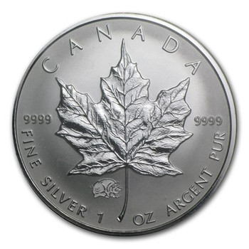 1oz. 2007 CANADIAN YEAR OF THE PIG  PRIVY MARK SILVER MAPLE LEAF COIN