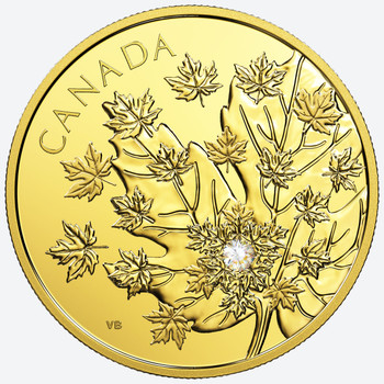 2018 $250 PURE GOLD COIN THE MAGNIFICENT MAPLE