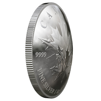 2018 $250 FINE SILVER COIN MAPLE LEAF FOREVER