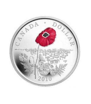 2010 LIMITED EDITION PROOF DOLLAR - POPPY