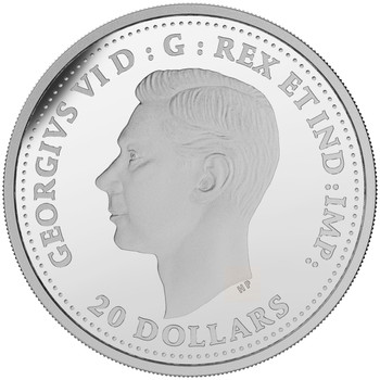 2018 $20 FINE SILVER COIN – SECOND WORLD WAR BATTLEFRONT SERIES – THE INVASION OF SICILY