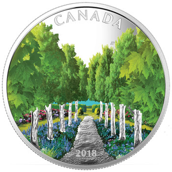 2018 $20 FINE SILVER COIN – MAPLE TREE TUNNEL
