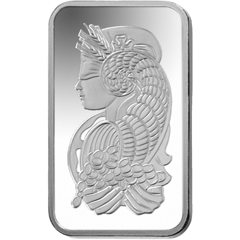 10 GRAM SILVER BAR FORTUNA - PAMP MINT