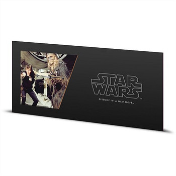 STAR WARS: A NEW HOPE - 5 GRAM FINE SILVER NOTE - HAN SOLO & CHEWBACCA