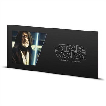 STAR WARS: A NEW HOPE - 5 GRAM FINE SILVER NOTE - OBI-WAN KENOBI