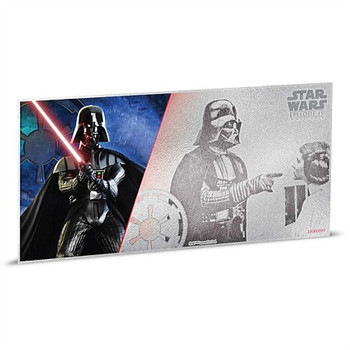 STAR WARS: A NEW HOPE - 5 GRAM FINE SILVER NOTE - DARTH VADER