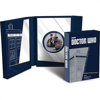 BBC DOCTOR WHO 2017 1 OZ FINE SILVER COIN