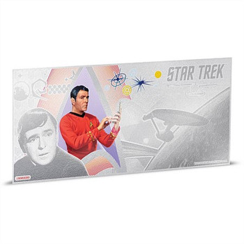 STAR TREK: THE ORIGINAL SERIES - 5 GRAM FINE SILVER NOTE - SCOTTY