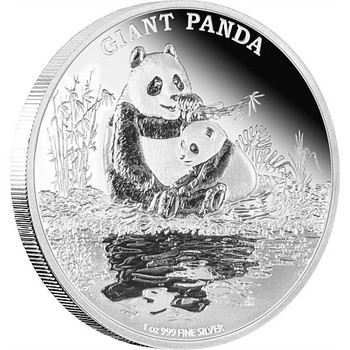 ENDANGERED SPECIES - 1 OZ FINE SILVER COIN - GIANT PANDA