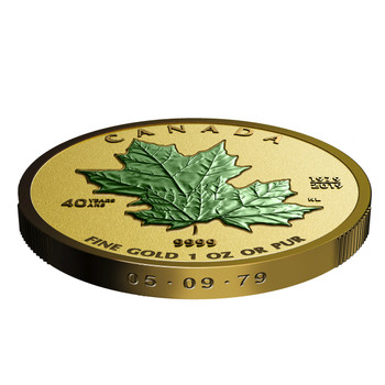 2019 PURE GOLD MAPLE LEAF FRACTIONAL SET 40TH ANNIVERSARY OF THE GOLD MAPLE LEAF