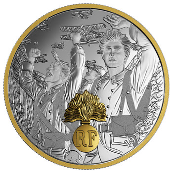 2018 $20 FINE SILVER COIN - FIRST WORLD WAR ALLIED FORCES: FRANCE