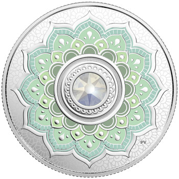 2018 $5 FINE SILVER COIN BIRTHSTONES: OCTOBER