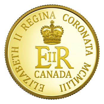 2018 $10 PURE GOLD COIN 65TH ANNIVERSARY OF THE CORONATION OF HER MAJESTY QUEEN ELIZABETH II