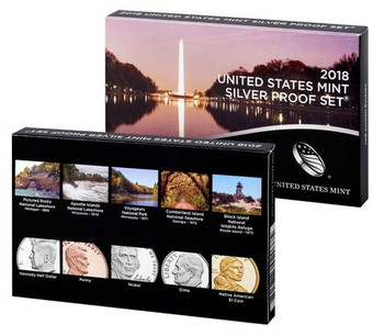 2018 SILVER PROOF SET - US MINT