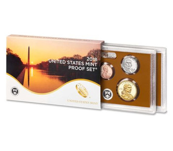 2018 SILVER CLAD PROOF SET - US MINT