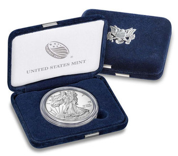 2018 AMERICAN EAGLE 1 OZ SILVER PROOF COIN - US MINT