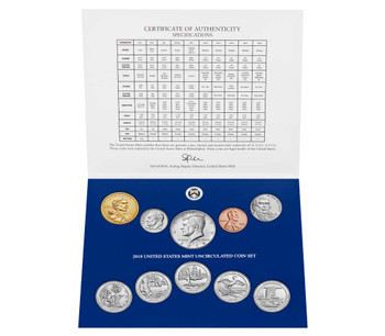 2018 2-PACK UNCIRCULATED COIN SETS -  PHILADELPHIA & DENVER MINT