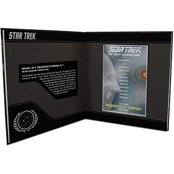 Star Trek: The Next Generation Episode Collection-7 x 5g Silver Coin Note