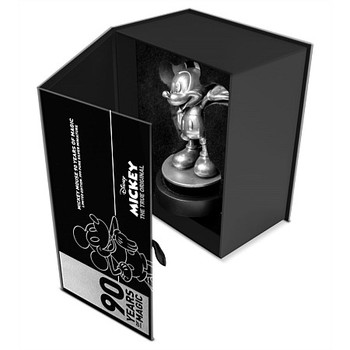 Mickey Mouse 90th Anniversary 150g Silver Miniature