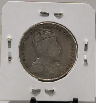 1907 CIRCULATION 50 -CENT COIN - UNGRADED - AS PICTURED