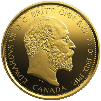 2018 $200 PURE GOLD COIN – THE 1908 SOVEREIGN 110TH ANNIVERSARY OF THE ROYAL CANADIAN MINT