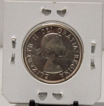 1957 CIRCULATION 50-CENT COIN - UNGRADED - AS PICTURED