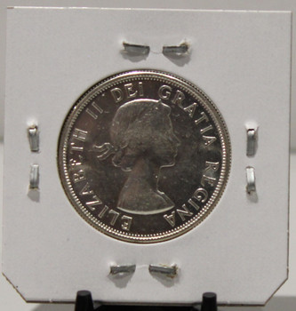1957 CIRCULATION 50 -CENT COIN - UNGRADED - AS PICTURED