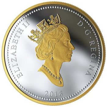 2018 $1 FINE SILVER COIN RENEWED SILVER DOLLAR: THE NATIONAL WAR MEMORIAL