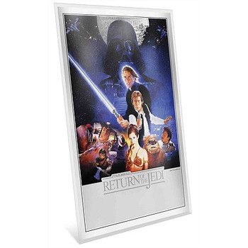 Star Wars: Return of the Jedi - Premium 35g Silver Foil