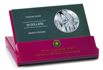 2005 STERLING SILVER COIN - TOTEM POLE