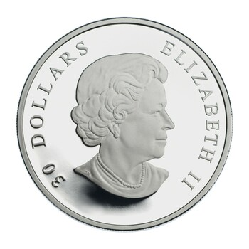 2007 STERLING SILVER COIN - CANADIAN NATIONAL VIMY MEMORIAL
