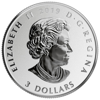 2019 $3 FINE SILVER COIN CELEBRATING CANADIAN FUN AND FESTIVITIES – NIAGARA FALLS
