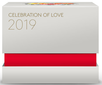 2019 $3 FINE SILVER COIN CELEBRATION OF LOVE