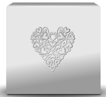 2019 $20 FINE SILVER COIN BEST WISHES ON YOUR WEDDING DAY
