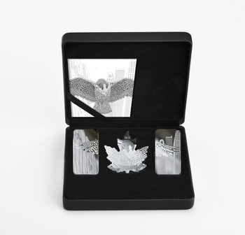 2019 FINE SILVER 3-COIN SET WINGS OF HOPE