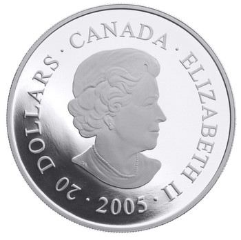 2005 $20 FINE SILVER COIN - NATIONAL PARKS - MINGAN ARCHIPELAGO