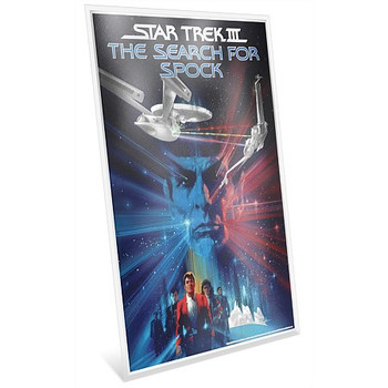 Star Trek III: The Search For Spock - 35g Pure Silver Foil