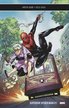 SUPERIOR SPIDER-MAN #1 LUPACCHINO 50 COPY INCENTIVE VARIANT