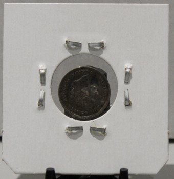 1900 5-CENT SILVER - F2 - SMALL DATE - UNGRADED - AS PICTURED