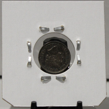 1892 5-CENT SILVER - F2 - UNGRADED - AS PICTURED