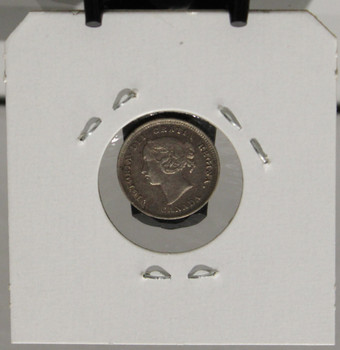 1888 5-CENT SILVER - UNGRADED - AS PICTURED