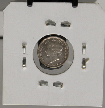1888 5-CENT SILVER - F5 - UNGRADED - AS PICTURED