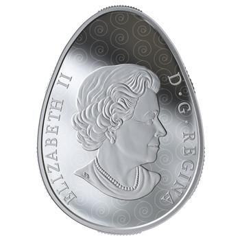 2019 $20 FINE SILVER COIN VEGREVILLE PYSANKA