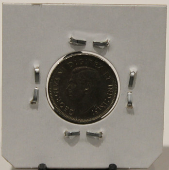 1942 CANADIAN FIVE-CENT - UNGRADED - AS PICTURED